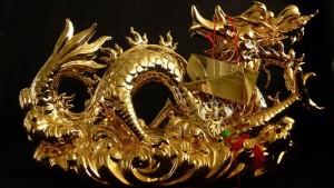 Chinesischer Gold-Drache
