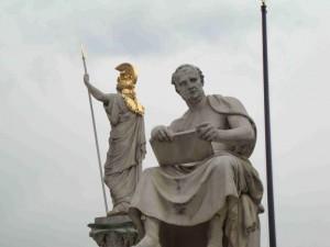 Titus Livius und Pallas Athene
