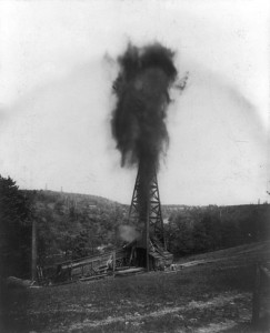 Oil gusher 1899: