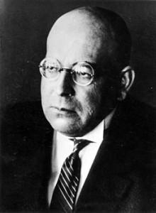 Oswald Spengler, 1922