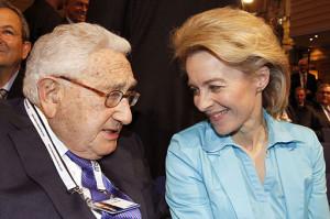 Kissinger, deutsche Verteidigungsministerin