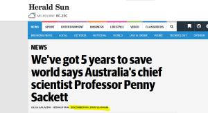 """Quelle: """"Herald Sun"""", 4. Dezember 2009"""