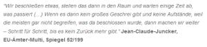 Juncker-Zitat