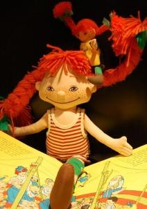 Pippi-Langstrumpf-Puppe