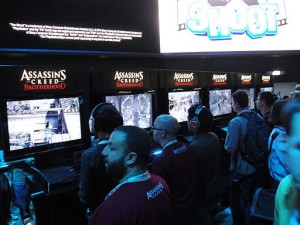 E3_2010_Playstation_booth_Assassin's_Creed_Brotherhood_demo_area