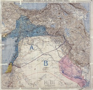 512px-MPK1-426_Sykes_Picot_Agreement_Map_signed_8_May_1916