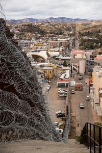 Nogales_Border_Wall_and_Concertina_Wire_-_46293165494