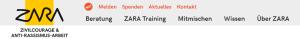 Zara - Spender statt Mitglieder